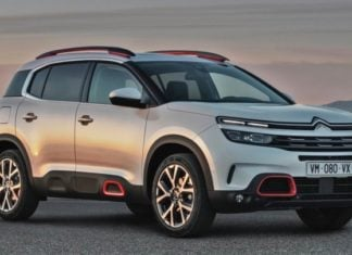 c5 aircross front image