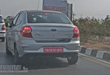 ford aspire blu front image