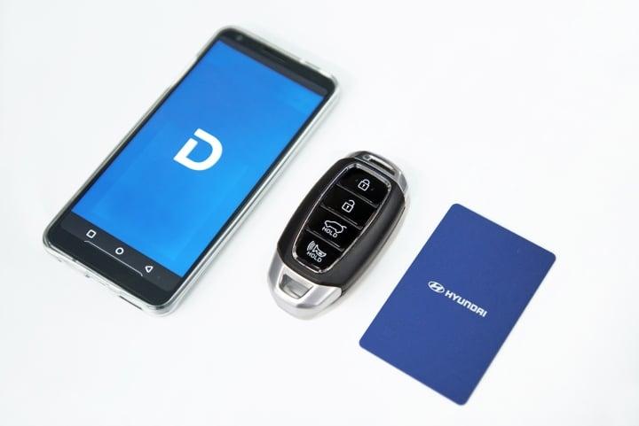 hyundai smartphone based key one image