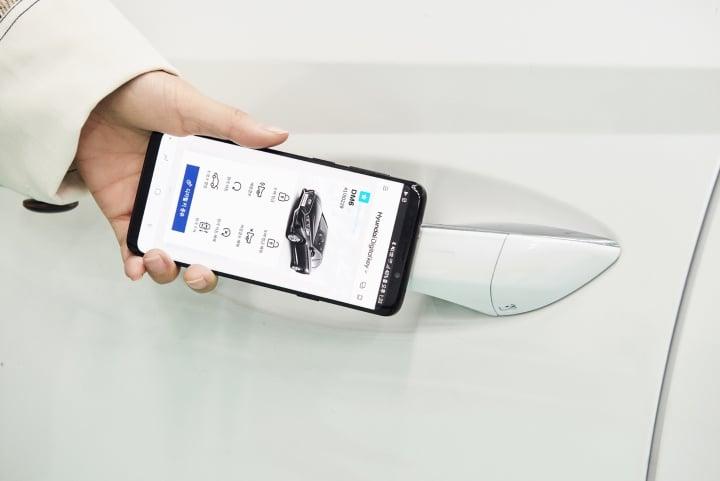 hyundai smartphone based key two image