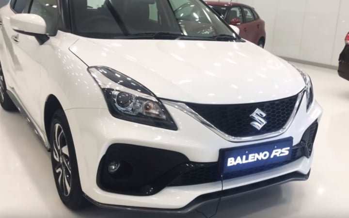 2019 Maruti Baleno RS starts arriving at dealerships- Images