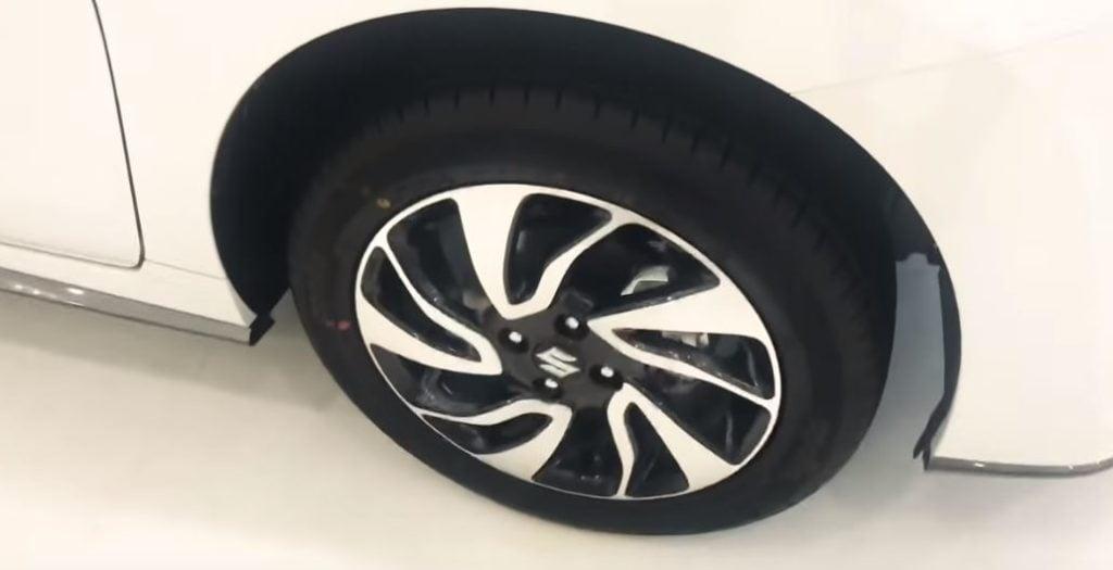maruti baleno rs wheels image