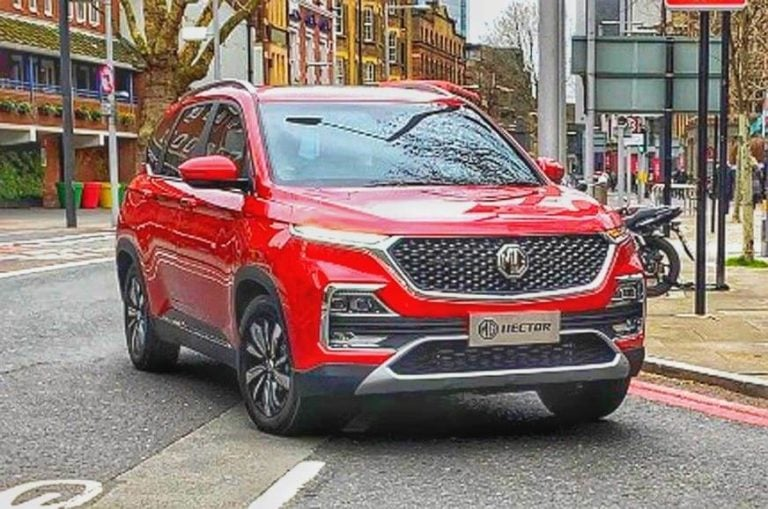 MG Hector Official Reveal On May 15