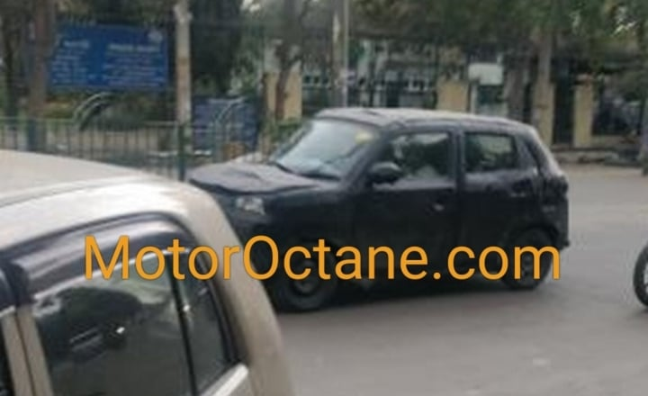 New Maruti Alto (Future Concept S) spotted testing once again!