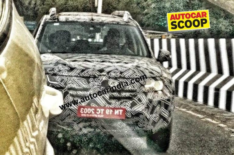 New Renault Duster spotted testing in India for the first time