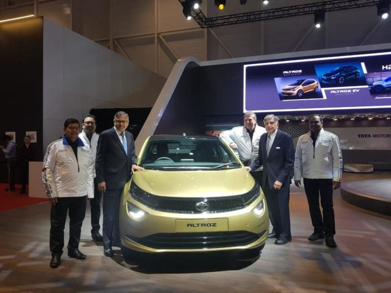 Tata Altroz and Altroz EV revealed at 2019 Geneva Motor Show
