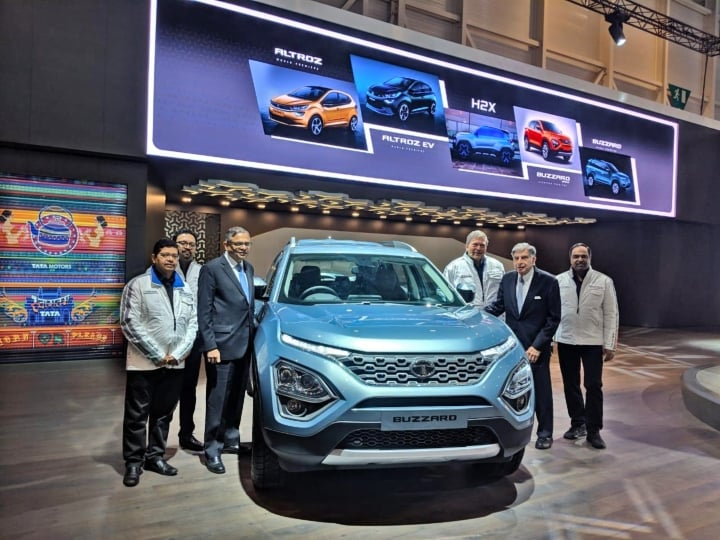 Tata Buzzard (Harrier seven-seater) makes debut at 2019 Geneva Motor Show