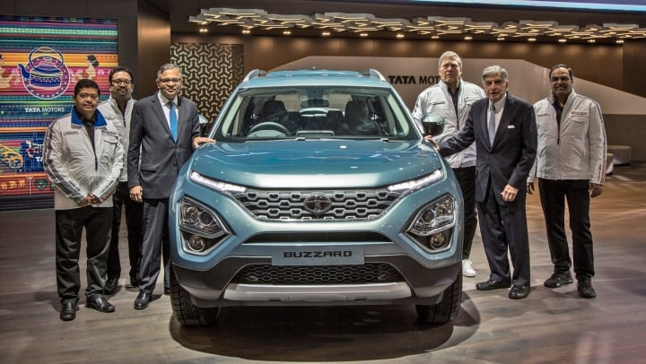 Tata Harrier seven-seater likely to be named as Cassini- Report