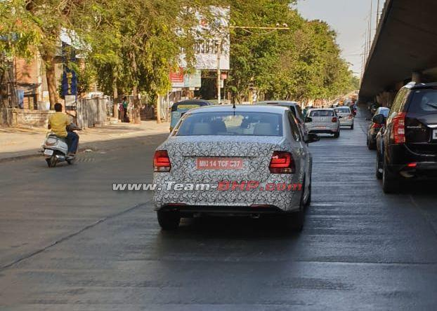 Volkswagen Polo and Vento to get a facelift soon? Updated models spotted testing!