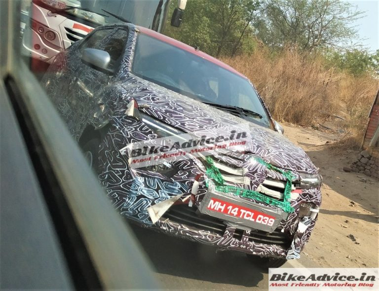Renault Kwid Facelift Spotted Testing In India