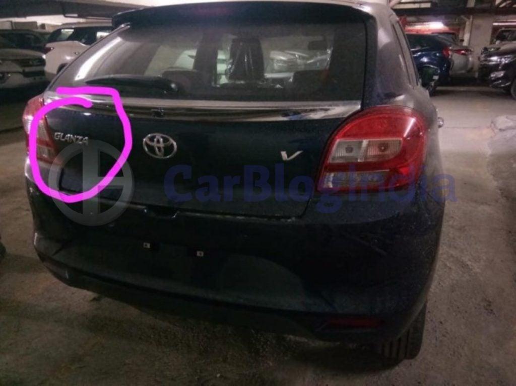 Toyota Glanza Rear