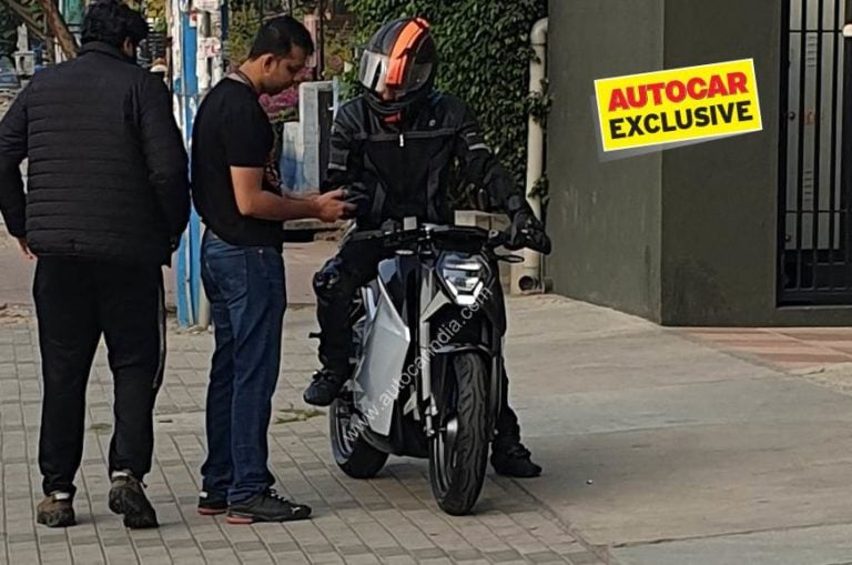 Ultraviolette F77 Electric bike spied testing for the first time – Video