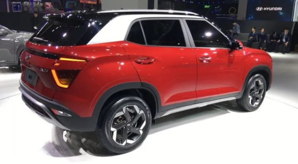creta new rear image