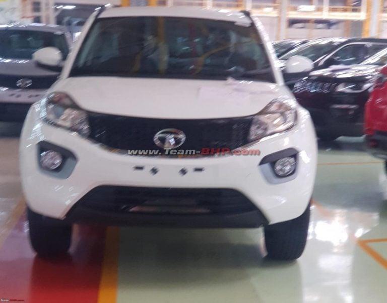 Tata Nexon EV spy shots reportedly leaked online!