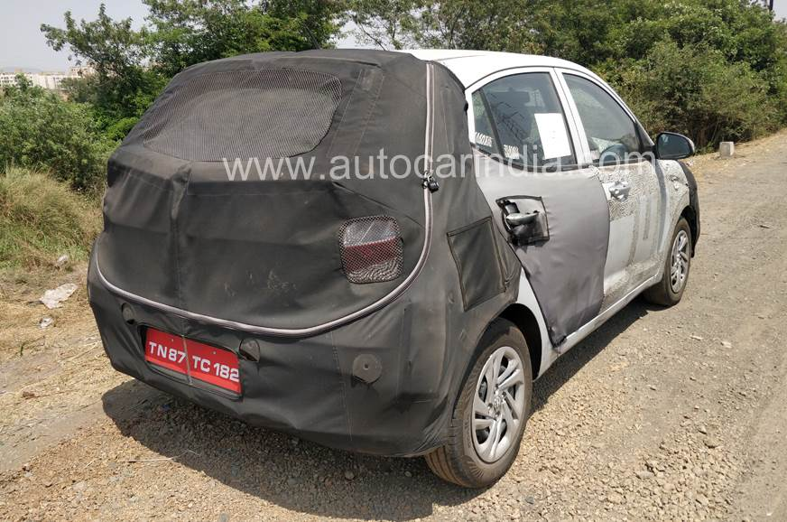 hyundai grand i10 rear image