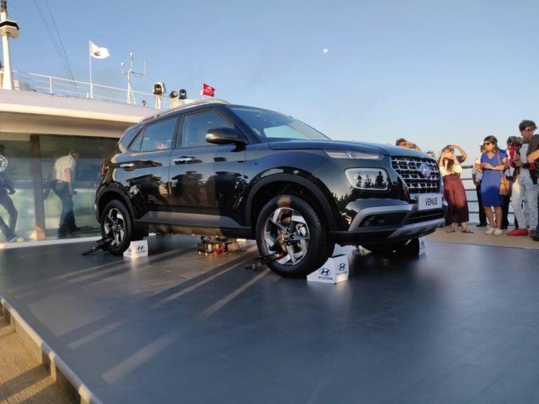 Hyundai Venue (Maruti Vitara Brezza rival) breaks cover; Launch confirmed for 21st May!