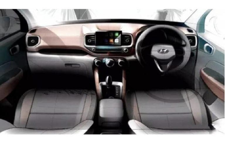 Hyundai Venue to get a dual-tone dashboard; launching soon