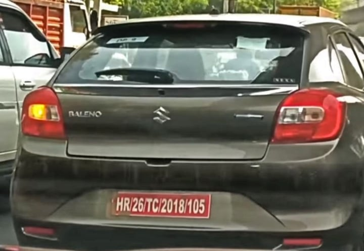 BIG News: Maruti Baleno with SHVS badging spotted testing!