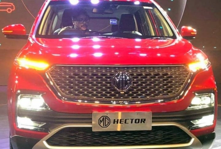 India Spec Mg Hector Suv Completely Revealed Interior And Exterior