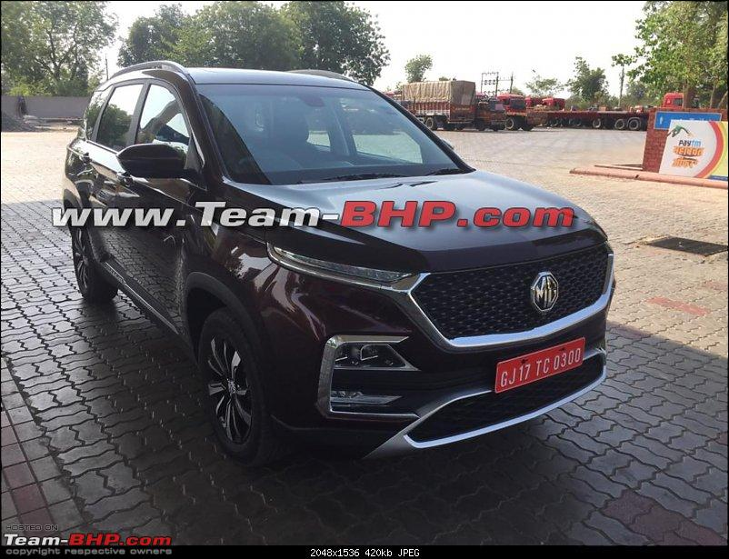 mg hector other side image