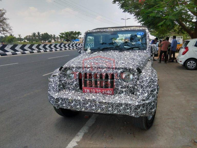 Next-Generation Mahindra Thar interiors completely revealed!