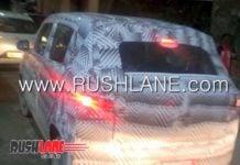 new maruti alto rear image