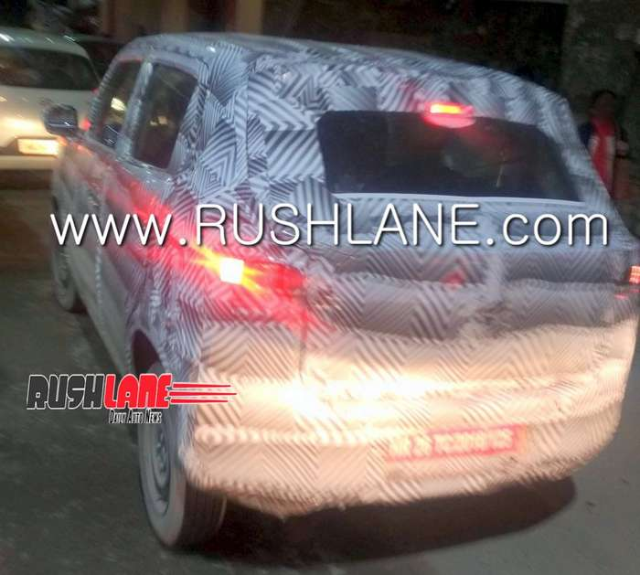 New Maruti Alto fresh spy images reveals interesting details