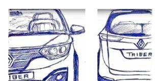 renault triber sketches fnb image