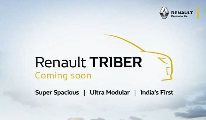 Renault Triber is the name for the Maruti Ertiga challenger!