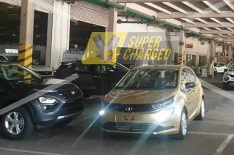 Tata Altroz production begins in India? Spied for the first time