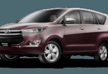 Toyota Innova petrol hybrid