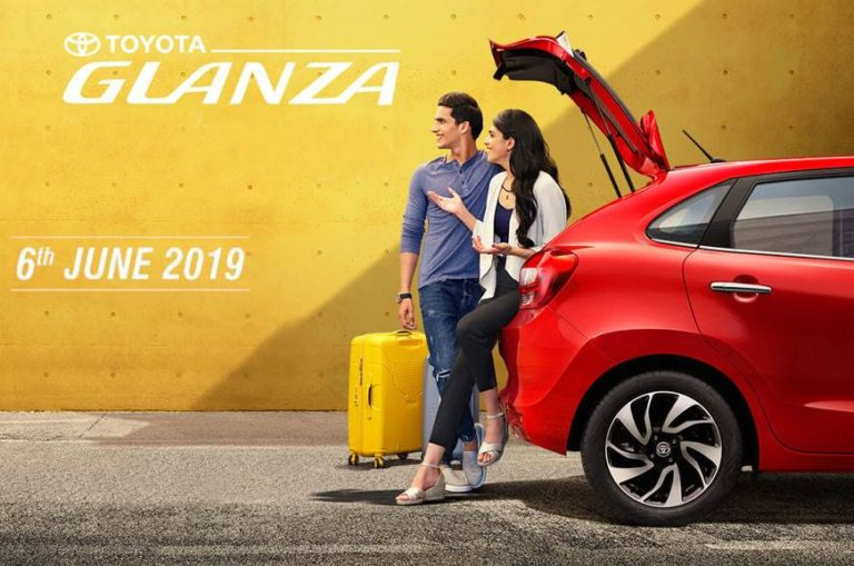 Toyota Glanza to launch on 6th June; New Teaser out