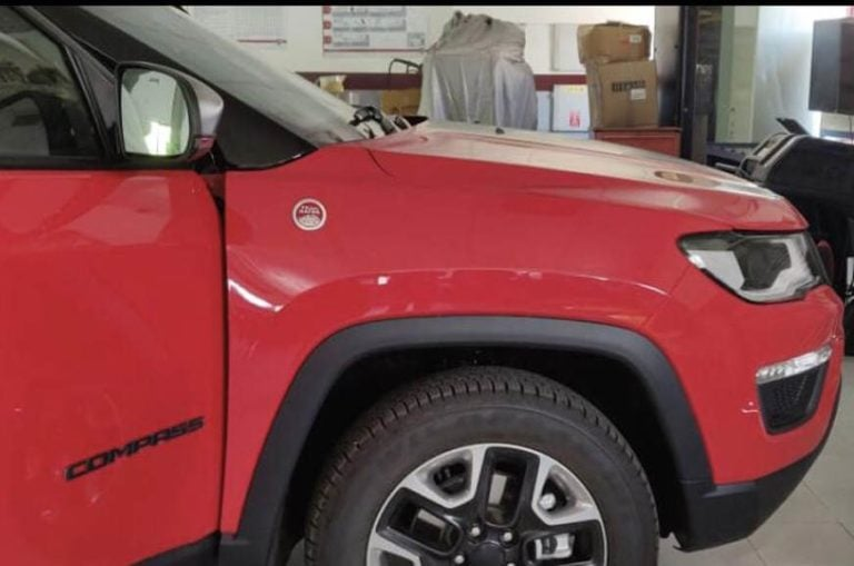 Jeep Compass Trailhawk spotted – Gets 9-speed automatic gearbox