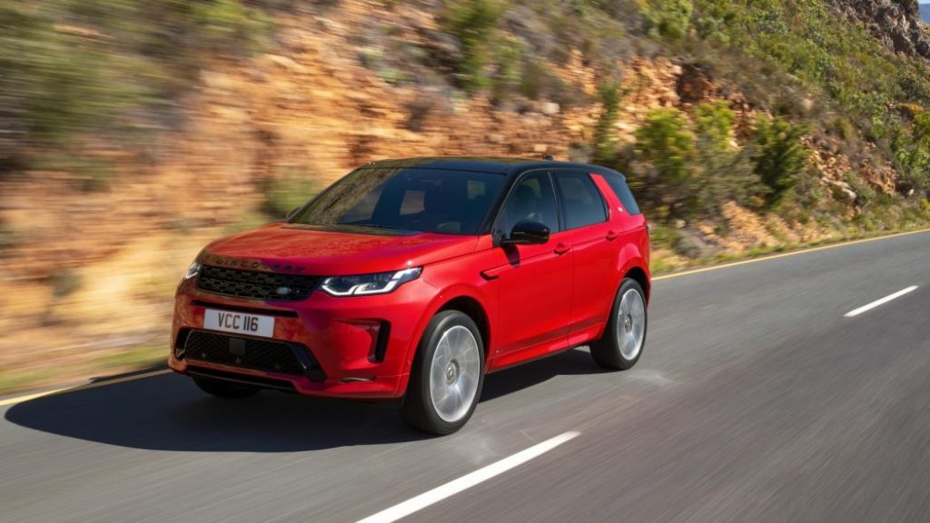 2020 Land Rover Discovery Sport front image
