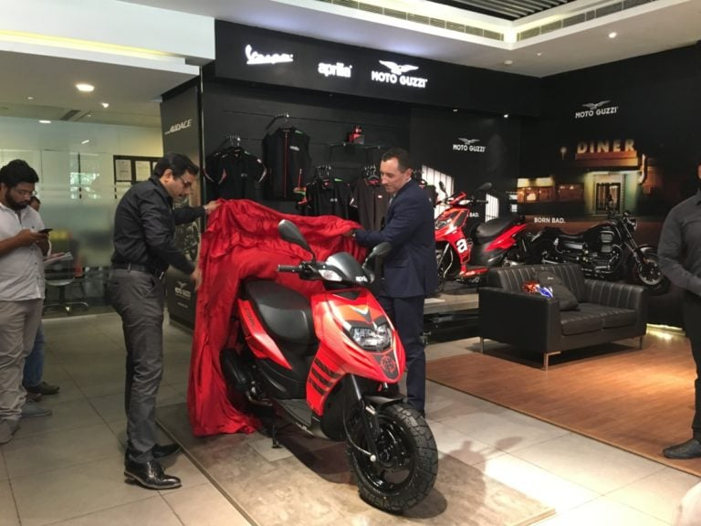 Aprilia Storm 125 Officially Launched; Deliveries Commence
