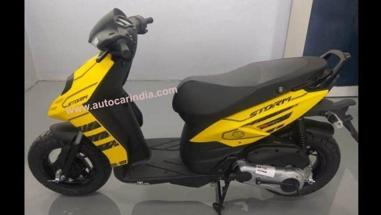 Aprilia Storm 125 reaches dealerships; Priced at Rs. 65,000