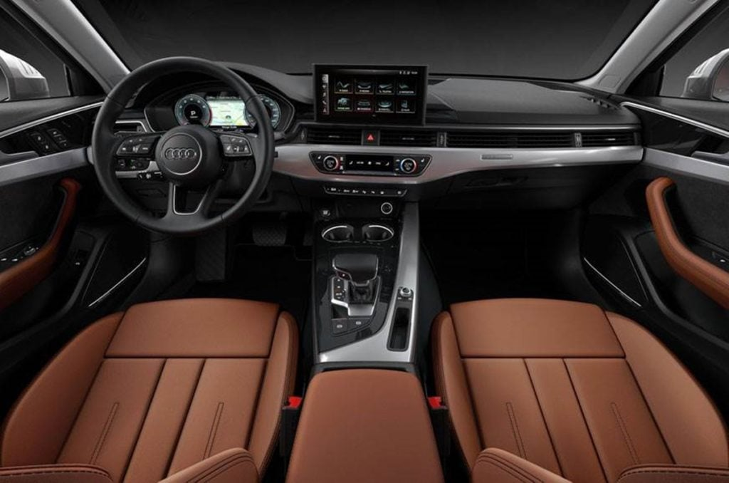 Audi A4 Facelift Interior
