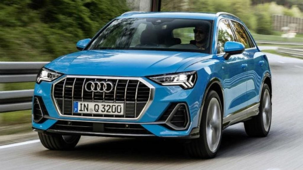 Audi Q3 used for representation only
