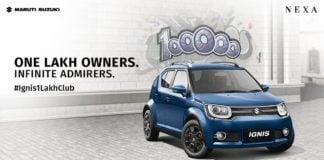 Maruti Suzuki Ignis celebrates 1 lakh sales