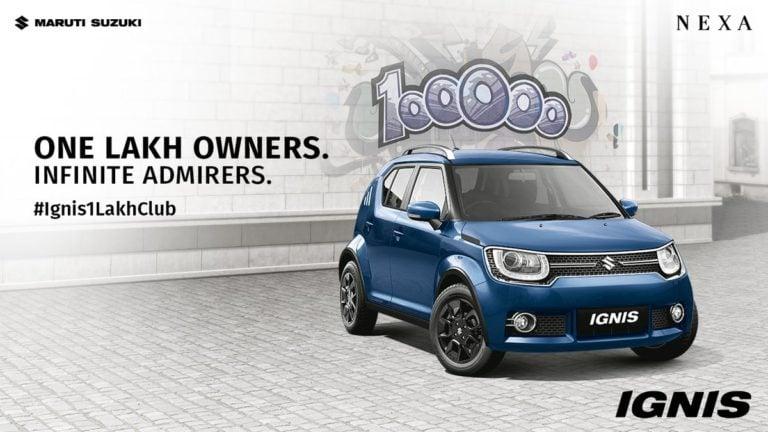 Maruti Suzuki Ignis – 1 lakh sales in just 27 months