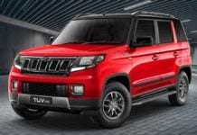 Facelifted Mahindra TUV300