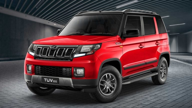 Mahindra TUV300 Facelift Launched; Looks More Rugged Now