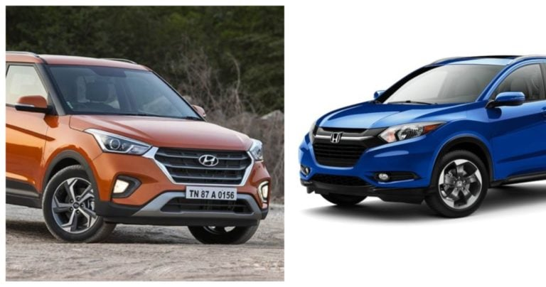 Upcoming Honda HR-V vs Hyundai Creta – Specification Comparison