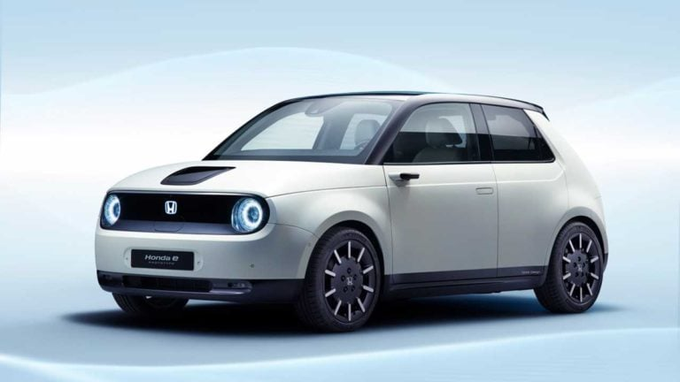Honda E is the name of the company's first small electric hatchback