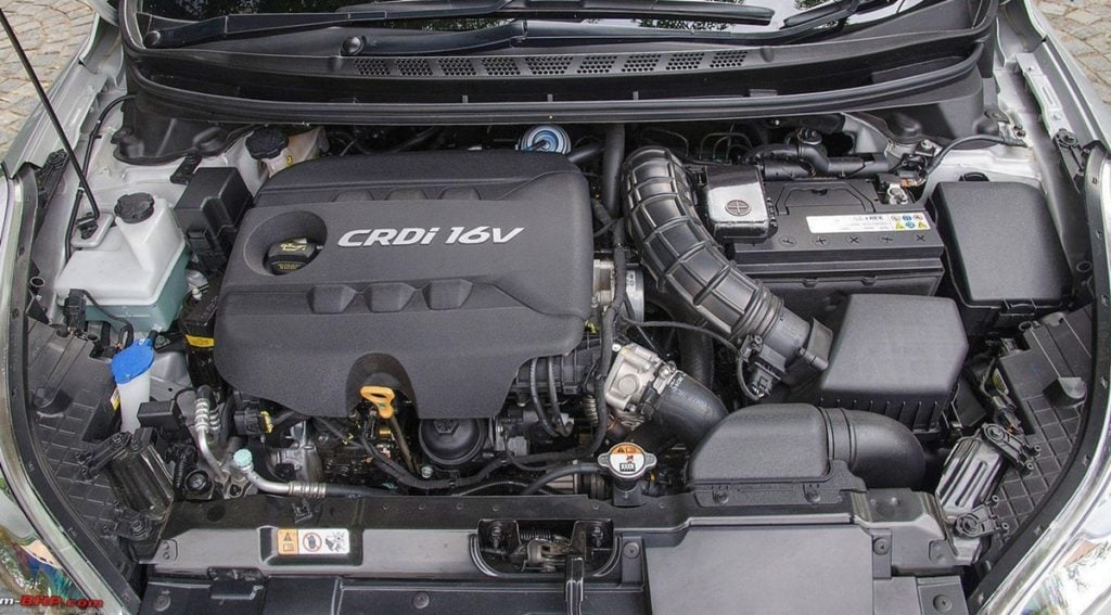 Hyundai's CRDI Diesel engine