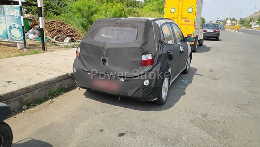 Next-gen Hyundai Grand i10 spotted testing