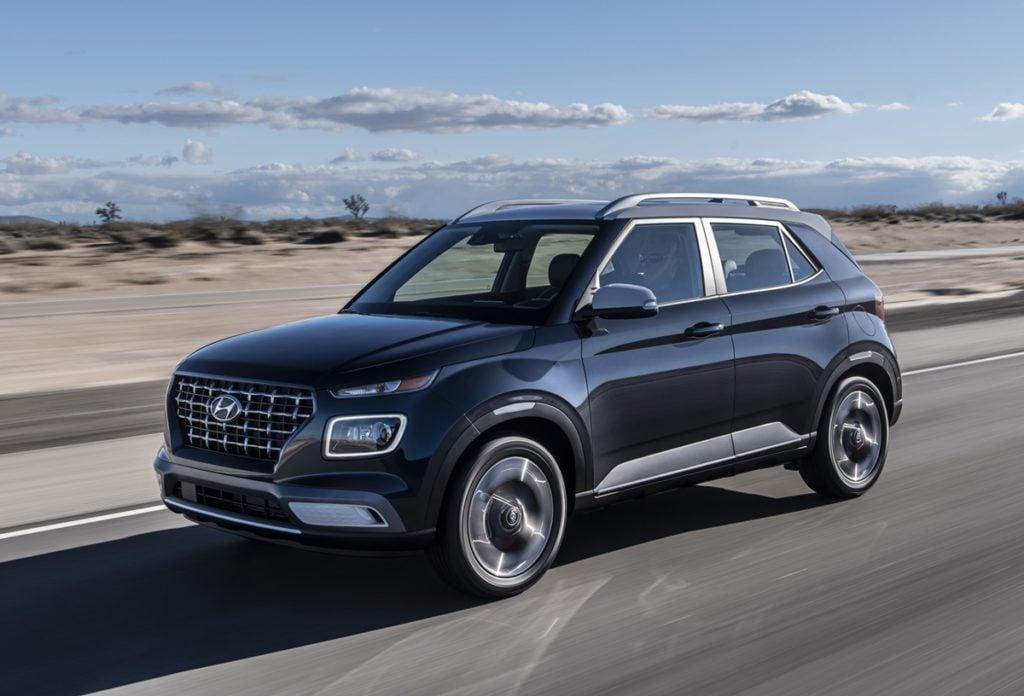 Hyundai Venue Trim levels