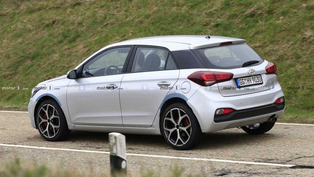 Hyundai i20 N Rear