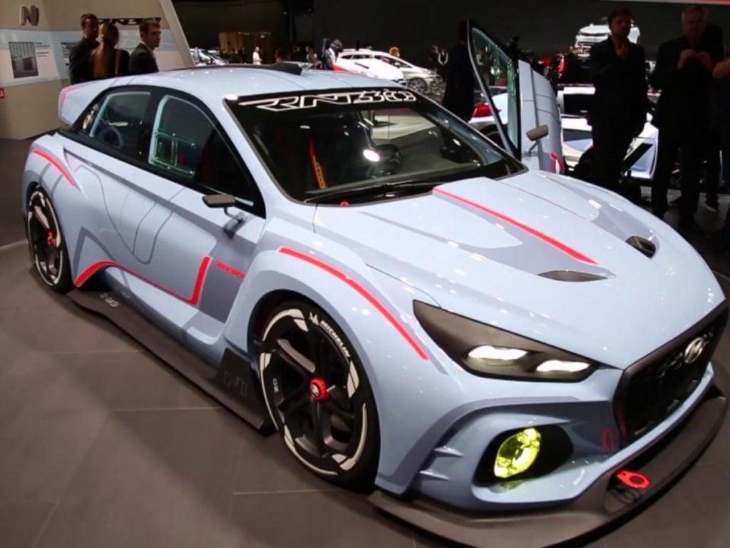 Hyundai i30 N from the Hyundai N-Division at the 2018 Auto Expo