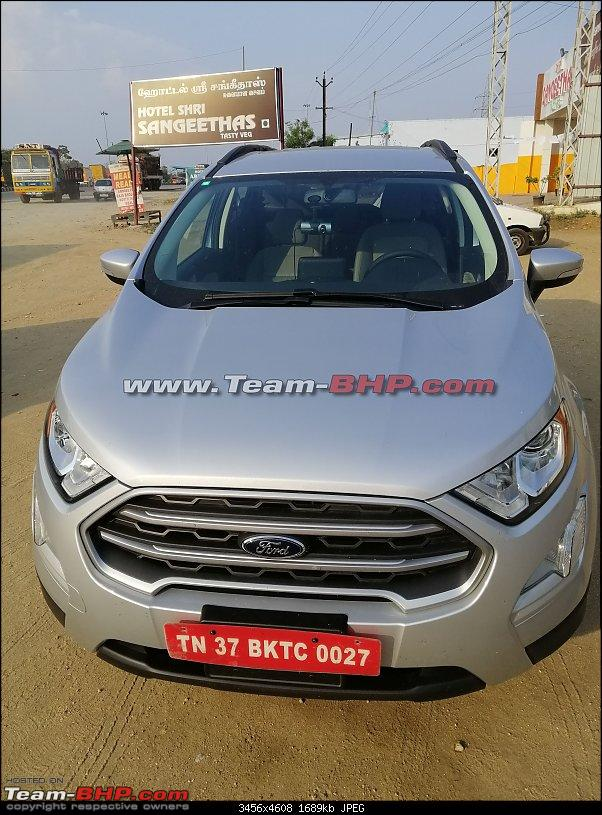 Ford Ecosport 4WD spotted – Will it come to India?